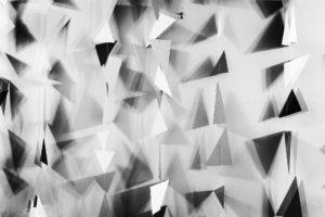 geometric greyscale triangles